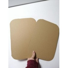Картонный лист 1020 х 1050 мм, микрогофрокартон