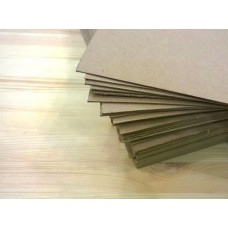 Картон переплетный 1000 х 800 мм (толщина – 2 мм), бурый