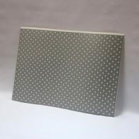 Лист дизайнерского картона 500 х 700 мм, мелованный с печатью «Silver Stars»