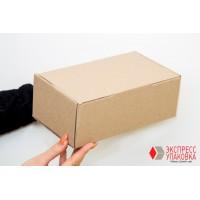 Коробка картонная 250 * 100 * 100 мм, самосборная