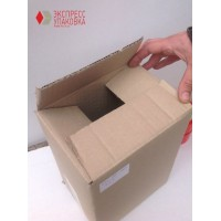 Коробка картонная 225 * 225 * 330 мм