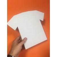 Коробка для маек и футболок 300 * 250 * 30 мм, самосборная