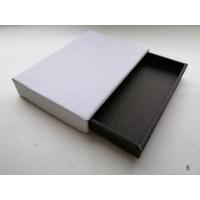 Коробка картонная 120 х 120 х 20 мм, самосборная