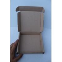 Коробка картонная 120 * 120 * 35 мм, самосборная
