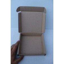Коробка картонная 120 х 120 х 35 мм, самосборная