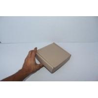 Коробка картонная 185 * 85 * 80 мм, самосборная