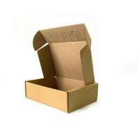 Коробка картонная 170 х 150 х 40 мм, самосборная