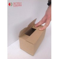 Коробка картонная 120 * 90 * 130 мм