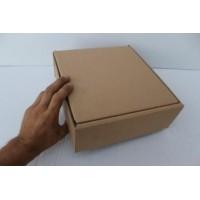 Коробка картонная 222 * 240 * 82 мм, самосборная