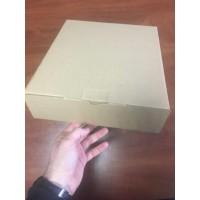 Коробка картонная 275 * 80 * 310 мм, самосборная