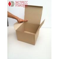 Коробка картонная 285 х 260 х 200 мм, самосборная