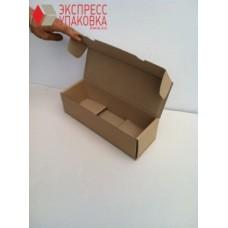 Коробка картонная 390 х 290 х 50 мм, самосборная