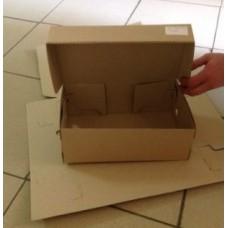 Коробка картонная 300 х 190 х 90 мм, самосборная