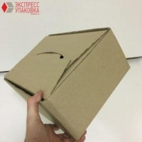 Коробка картонная 315 * 250 * 140 мм, крышка+дно