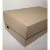 Коробка картонная 340 х 200 х 125 мм, самосборная