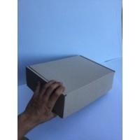 Коробка картонная 326 х 105 х 161 мм, самосборная