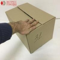 Коробка картонная 380 * 250 * 230 мм