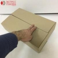 Коробка картонная 385 х 235 х 90 мм