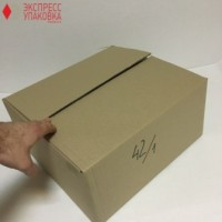 Коробка картонная 390 * 350 * 190 мм