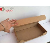 Коробка картонная 380 х 205 х 60 мм, самосборная