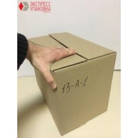 Коробка картонная 395 * 230 * 290 мм