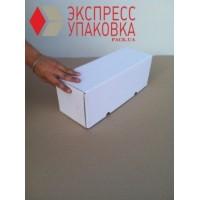 Коробка картонная 405 х 150 х 150 мм, самосборная