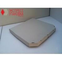 Коробка картонная 490 х 490 х 55 мм, под пиццу