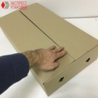 Коробка картонная 600 * 325 * 130 мм