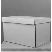 Коробка картонная 650 х 650 х 750 мм, крышка-дно