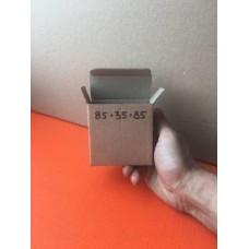 Коробка картонная 85 х 35 х 85 мм, самосборная