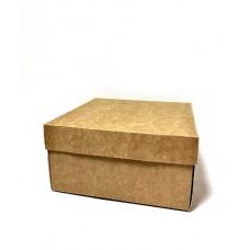 Коробка подарочная 140 х 140 х 70 мм, крышка+дно