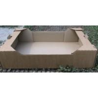 Лоток картонный 570 х 380 х 95 мм