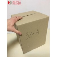 Коробка картонная 255 * 255 * 315 мм