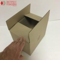 Коробка картонная 270 * 185 * 210 мм