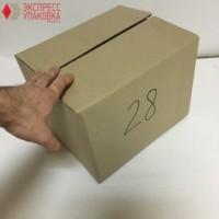 Коробка картонная 290 * 235 * 215 мм