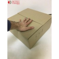 Коробка картонная 345 * 345 * 140 мм