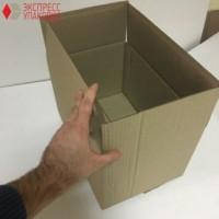 Коробка картонная 370 * 240 * 220 мм