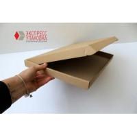 Коробка картонная 370 х 260 х 25 мм, самосборная
