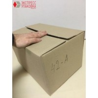 Коробка картонная 380 х 260 х 215 мм