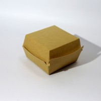 Коробка для еды 110 х 110 х 80 мм, самосборная