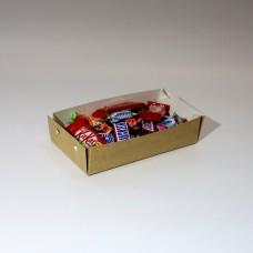 Коробка для еды 200 х 100 х 50 мм, крышка+дно