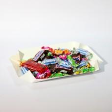 Коробка для еды 240 х 140 х 50 мм, крышка+дно с окном