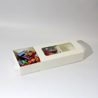 Коробка для еды 210 х 110 х 50 мм, самосборный пенал