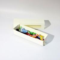 Коробка для еды 210 х 50 х 50 мм, самосборный пенал