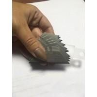 Комплект лезвий трапециевидных 60 x 19 мм (10 шт в упаковке) для складных ножей