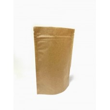 Пакет дой-пак 130 х 200 мм, крафт с замком Zip-Lock