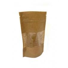 Пакет дой-пак 80 х 130 мм с прозрачным окошком