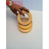 Двухсторонний скотч 50 м х 19 мм, желтый