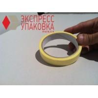 Двухсторонний скотч 50 м х 25 мм, желтый