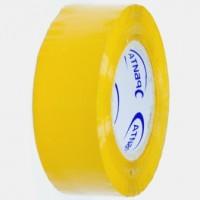 Скотч-пленка желтая, 200 м х 48 мм